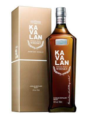Kavalan\\'s latest release, Distillery Select, sold in the bottle with a silhouette inspired by the shape of Taiwan\\'s tallest skyscraper the Taipei 101