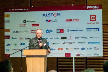 Ladislav Štěpánek, člen představenstva a ředitel divize Výroba, ČEZ, a. s., před partnerskou deskou konference All for Power 2013
