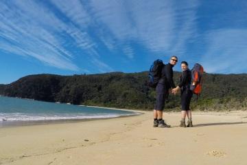 Abel Tasman Coastal Walk je jedním z nejpopulárnějších treků na Novém Zélandu