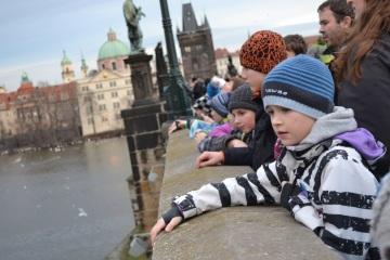 Akci Ledová Praha pořádá v době pololetních prázdnin Pionýr a Nadace Dětem 3. tisíciletí