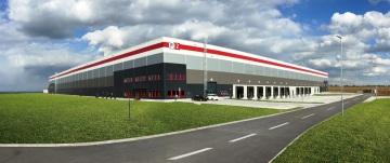 Budova distribučního centra