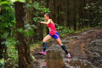 Eva Fryšarová za běhu