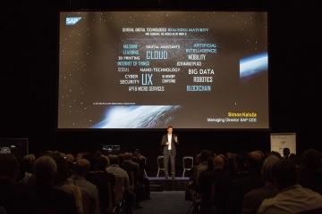 Simon Kaluža, generální ředitel SAP pro region CEE