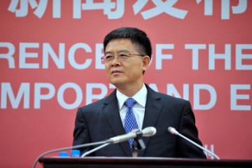 Mluvčí kantonského veletrhu Xu Bing (PRNewsfoto/Canton Fair)
