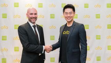 Společnost ofo vytvořila partnerství se skupinou C40 za účelem řešení klimatických změn (PRNewsfoto/ofo)