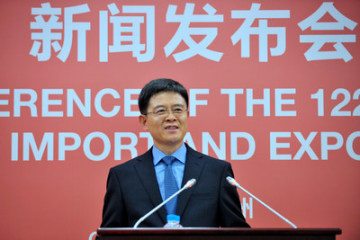 Xu Bing, spokesman for the Canton Fair, noted that the fruitful results at the 122nd Canton Fair were achieved thanks to the growing number of buyers and their purchasing power. (PRNewsfoto/Canton Fair)