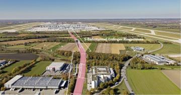 PORR staví železniční tunel v Mnichově