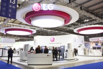 LG showcases HVAC solutions at MCE 2018. (PRNewsfoto/LG Electronics)