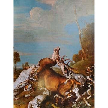 Johann Georg de Hamilton: Štvanice na jeleny