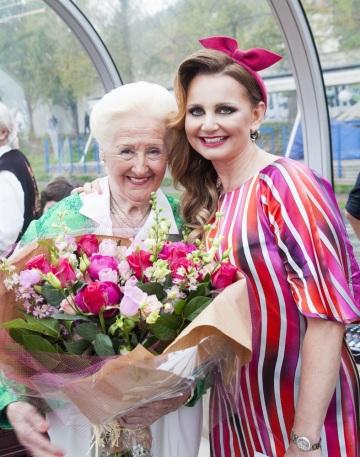 Olga Knoblochová a Věra Komárová