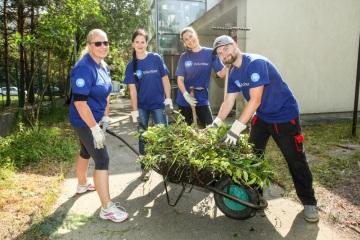 Již šestým rokem pokračují dobrovolníci ze společnosti Procter & Gamble v zapojení do Mezinárodního dne firemního dobrovolnictví