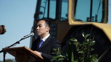 Ředitel společnosti Risen Energy Australia John Zhong (PRNewsfoto/Risen Energy Co., Ltd)
