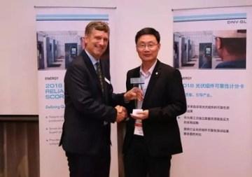 GCL-SI obdržela ocenění od DNV GL (PRNewsfoto/GCL System)