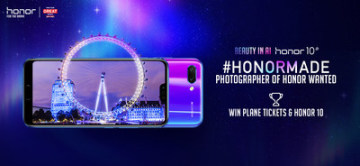 AIMAZING Journey by Honor and VisitBritain (PRNewsfoto/Honor)