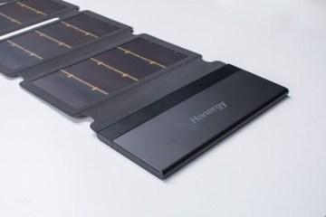 Tenkovrstvá solární nabíječka Hanergy (PRNewsfoto/Hanergy)
