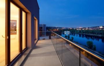 Byty Jankovcova – luxusní bydlení s neopakovatelnými výhledy na Vltavu