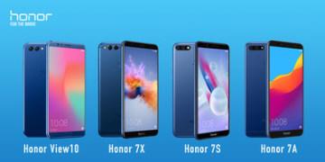 Čtyři smartphony Honor vstupují na latinskoamerický trh (PRNewsfoto/Honor)