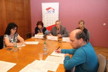 Tisková konference Sdružení nájemníků ČR (SON)