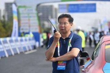 Gaizang Cairang, vedoucí oddělení sportu vlády provincie Čching-chaj (PRNewsfoto/Xinhuanet)