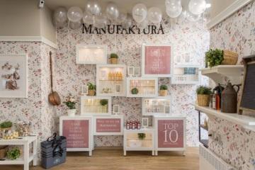 Interiér prodejny Manufaktura - Na Příkopě 16