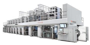 Jedna z investic, které budou zprovozněny v letošním roce – hlubotiskový stroj pro potisk obalů