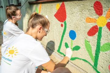 Společnost PPG dokončila projekt COLORFUL COMMUNITIES v mateřské školce Pšeník v Brně(Foto: Business Wire)
