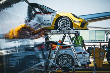 Finále závodů Porsche 911 GT3 Cup v Mexiku s logistickou podporou Kühne + Nagel