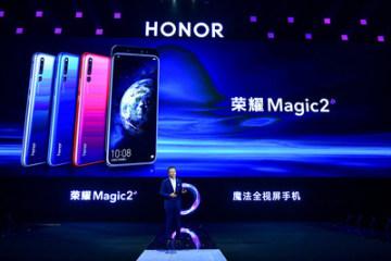 George Zhao, prezident společnosti Honor, představil Honor Magic2 v Číně