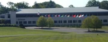 Centrála společnosti SI Group Global v Schenectady, New York