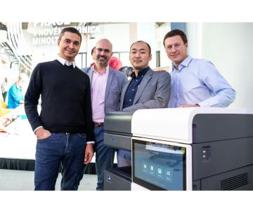 Konica Minolta na český trh uvádí technologii Workplace Hub - fotografie z prezentace