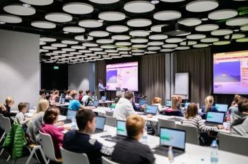 Workshop pro děti v kancelářích SAP v pražském Metronomu