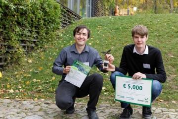 Studenti Šimon Zeman a Jakub Vácha zvítězili v kategorii výzkumných projektů