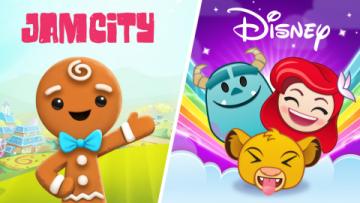 Studio Jam City a společnost Disney oznámily několikaletou smlouvu o spolupráci na vývoji mobilních her Grafika: BusinessWire