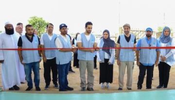 Šejk Sultán bin Ahmed Al Qasimi, humanitární vyslanec nadace a předseda představenstva SMC nemocnici slavnostně otevřel minulý pátek Foto: BusinessWire