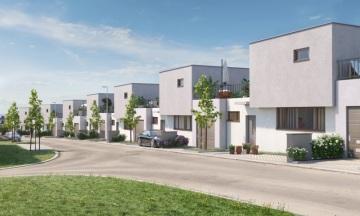 Domy v projektu Zelené Modřany nabídnou klidné, komfortní bydlení stranou od ruchu velkoměsta