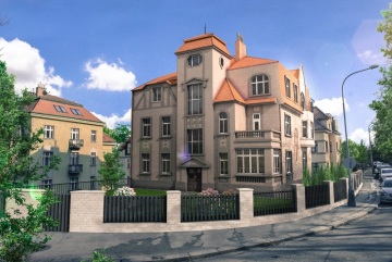 Moderní bydlení v centru Prahy s nádechem historie. To je projekt Na Doubkové 2.