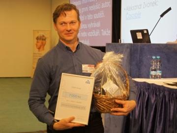 Jediným autorem, který v literární soutěži zvítězil dvakrát, byl neslyšící Alexandr Zvonek. Foto: Jana Jochmanová