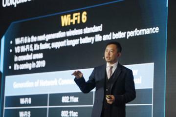 Qiu Heng, prezident globálního marketingu obchodní společnosti Huawei Enterprise