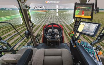 Aplikace pro chytrá zařízení propojuje kanceláře s kabinou traktorů a dalších zemědělských strojů Foto: BusinessWire