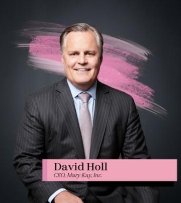 David Holl, předseda představenstva a generální ředitel společnosti Mary Kay