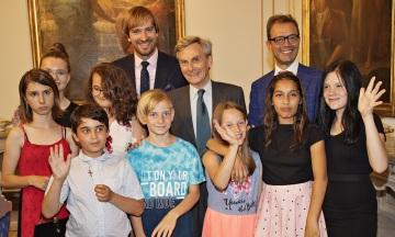 V Praze byl představen již třetí ročník charitativní iniciativy Nave ITALIA pro Českou republiku