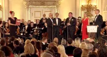 Ve Španělském sále Pražského hradu se poosmnácté předávaly mezinárodní ceny Trebbia