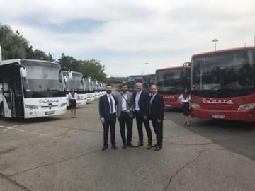 Zleva: Aykan Cavlak, Petar Filipovic, Vladan Sekulic, Hakan Koralp
