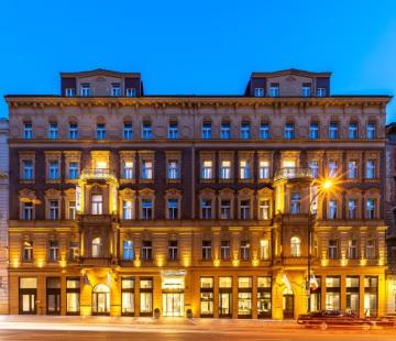 Nový pražský Radisson Blu Hotel, Prague uspořádal slavnostní párty k příležitosti jeho nedávného otevření