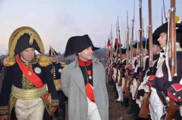Císaře Francouzů a krále Itálie Napoleona I. bude představovat pan Mark Schneider z Williamsburgu ve Virginii (USA)