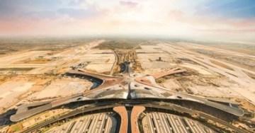 Solární systém Fusion Solar společnosti Huawei dodává energii do vybraných částí mezinárodního letiště Peking Ta-sing