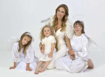 Andrea Verešová s anděly