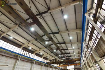 LED Solution s.r.o. realizovala v tomto roce LED osvětlení průmyslové haly Realmont