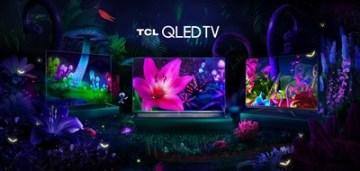 Televizory TCL QLED: C715, X915, C815 (zleva)