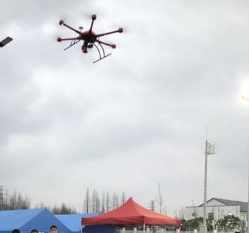 Vysílání prostřednictvím dronů MMC (MicroMultiCopter Aero Technology)